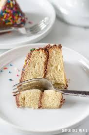 Easy Gluten Free Vanilla Cake