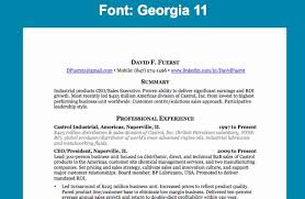 Good Resume Fonts Inspiration Acceptable Resume Fonts Minimalist Best Font For Resume Writing Good