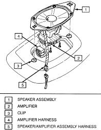 repair guides entertainment systems speakers autozone com 98 El Dorado Wiring Diagram delco® bose® rear speaker installation eldorado and seville El Dorado Movie