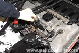 bmw e90 valvetronic motor replacement e91 e92 e93 pelican remove ignition coil from cylinder head by pulling straight up