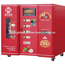 Pizza Vending Machine Extraordinary Automatic Pizza Vending Machine Global Sources