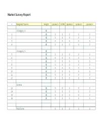 Professional Survey Template Professional Survey Template User Research Word