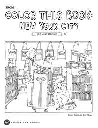 coloring book printouts. Perfect Book Color This Book New York Abbi Jacobsonu0027s Adult Coloring Book Printout On Coloring Printouts 2