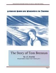 the story of tom brennan teacher text guides worksheets tpt the story of tom brennan teacher text guides worksheets