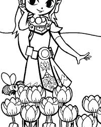 Legend Of Zelda Coloring Pages Coloring Pages The Legend Of Coloring