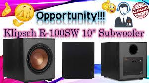 🔥🔥Klipsch R-100SW 10
