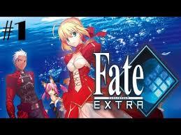 <b>Fate</b>/<b>Extra</b> Walkthrough Gameplay Part 1 - Prologue - No ...