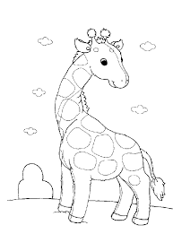 Kleurplaten En Zo Kleurplaten Van Giraffe