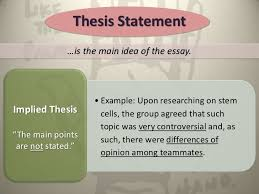 the reflective essay final  thesis statement