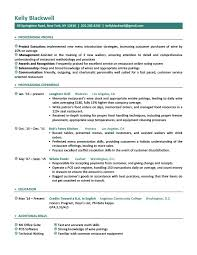 Job Resume New Career Level Life Situation Templates Resume Genius