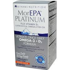 minami nutrition morepa platinum orange 60 softgels