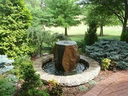 rock fountain redbud design regarding water ideas 13