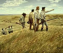 introduction lewis and clark expedition a national register of  painting by historical artist ron backer titled lewis and clark s spirit mound painting image courtesy of ron backer lewisandclarkhappenings com