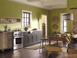 sage green furniture. Sage Green Color Walls Kitchen With Wooden Furniture Regarding O