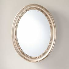 Oval Mirror Medicine Cabinet Favaloro Surface Mount Oval Medicine Cabinet Bathroom