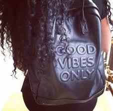 bag leather bag good vibes good vibes only black imprint leather bookbag bookbag vibes curly hair