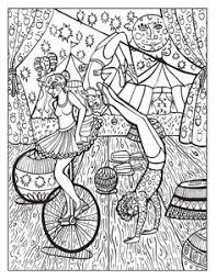 Small Picture A Day at the Circus coloring page on Behance color pages