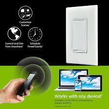 iris zwave ge 45637 wireless lighting. Ge Z Wave Plus Wireless Smart Lighting Control Dimmer Switch Rh Yoursmarthomestore Com Iris Zwave 45637