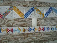 cool border | Quilt info | Pinterest | Quilt border, Bees and ... & Round Robin Row Quilt Border Row 8 with Patchwork Posse - Adamdwight.com