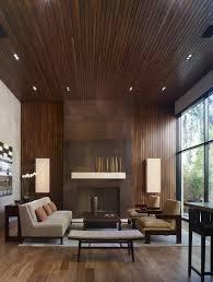Modern Wood Panel Ceiling