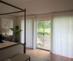 ways to cover sliding glass doors