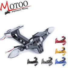perfk <b>Motorcycle CNC Aluminum</b> Adjustable License Number Plate ...