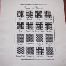 Sanquhar Patterns Sampler All Done Just Need To Get It