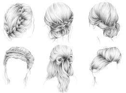Coiffure Dessin Dans Les Cheveux L