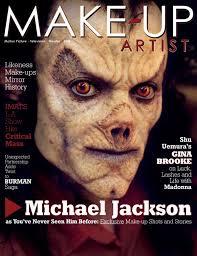 michael jackson makeup artist magazine