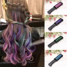 <b>1pc</b> Temporary Dye <b>Colour</b> Hair Chalk Soft Pastel Cream <b>Comb</b> ...