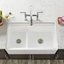 save double basin farmhouse sink99