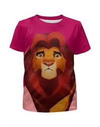 """Детские футболки c качественными принтами """"<b>lion</b>"""" - <b>Printio</b>"""