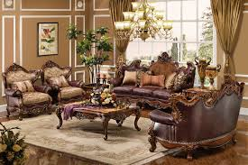 Living Room Formal Leather Furniture Eiforces - Leather livingroom