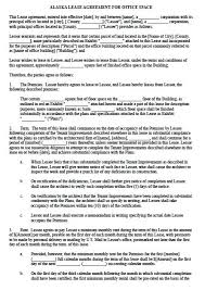 Free Commercial Lease Agreement Forms To Print Office Space Rental Agreement Template Printable Sample Commercial