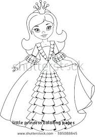 Free Printable Princess Coloring Pages Little Princess Coloring