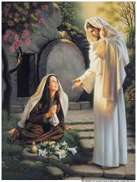 Image result for pictures of mary at jesus tomb