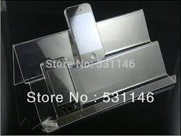 Acrylic Cell Phone Display Stands Acrylic Mobile Phone Holder Mobile cell phone display stand 1