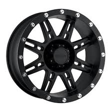Pro p alloys series 31 wheel with flat black finish 16x8 6x139