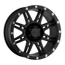 Pro p alloys series 31 wheel with flat black finish 16x8 5x127mm