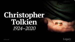 2020 Deaths: R.I.P. Christopher Tolkien, son of Lord of the Rings author  J.R.R. Tolkien