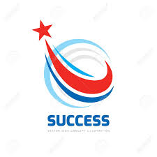 Start Logo Design Success Abstract Vector Logo Design Elements With Star Sign