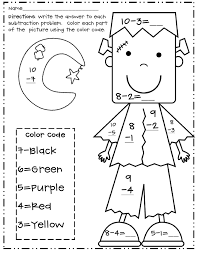 1st Grade Halloween Coloring Sheets First Grade Coloring Pages Free