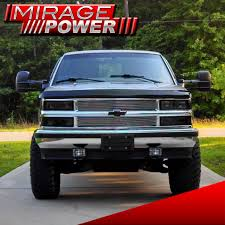 Towing Mirrors Power Pair 88-98 Chevy GMC C/K 1500/2500/3500 Black ...