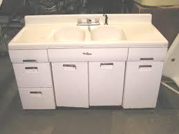vintage metal kitchen sink base cabinet http