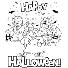 Small Picture Halloween Coloring Pages 3 FunyColoring
