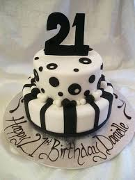 Beautiful Elegant 21st Birthday Cakes For Woman Simple Cake
