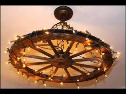 wagon wheel chandelier you pertaining to ideas 10