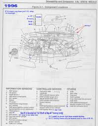 schematics to run engine 1996 relay and sensor locater maps errors revised mostly correct to 1998
