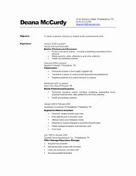 Server Resume Samples Lovely Entry Level Phlebotomy Resume Examples