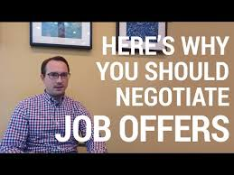Salary Negotiation Tips: Winning after a job offer - YouTube Salary Negotiation Tips: Winning after a job offer